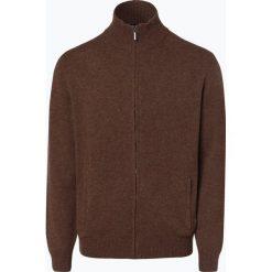 Mc Earl - Kardigan męski, beżowy. Brązowe swetry rozpinane męskie Mc Earl, m, z wełny. Za 179,95 zł.