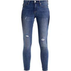 GAP SYRACUSE Jeans Skinny Fit blue. Niebieskie boyfriendy damskie GAP. W wyprzedaży za 158,95 zł.