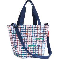 Shopper bag damskie: Torba w kolorze niebieskim na zakupy – 31 x 21 x 16 cm