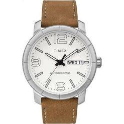 Zegarek Timex Męski Mod 44 TW2R64100 brązowy. Brązowe zegarki męskie Timex. Za 246,99 zł.