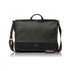 "Head messenger H50140201 15"" czarna. Czarne torby na laptopa Head, w paski. Za 419,00 zł."