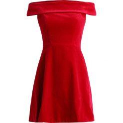 Sukienki hiszpanki: Karen Millen BANDEAU DRESS Sukienka koktajlowa red
