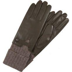 Rękawiczki damskie: Roeckl HERITAGE Rękawiczki pięciopalcowe hunter/taupe
