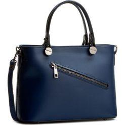 Torebka CREOLE - K10222 Granat. Niebieskie torebki klasyczne damskie Creole, ze skóry. W wyprzedaży za 209,00 zł.