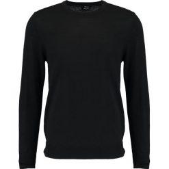 Swetry klasyczne męskie: Burton Menswear London CREW NECK Sweter black