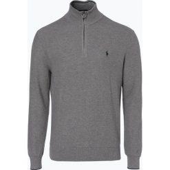 Polo Ralph Lauren - Sweter męski, szary. Szare swetry klasyczne męskie Polo Ralph Lauren, m, z bawełny, polo. Za 699,95 zł.