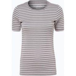 Brookshire - T-shirt damski, szary. Czarne t-shirty damskie marki brookshire, m, w paski, z dżerseju. Za 39,95 zł.