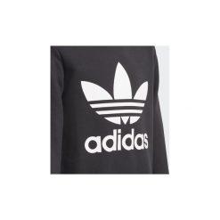 Bluzy Dziecko adidas  Bluza z zaokrąglonym dekoltem Trefoil. Czarne bluzy dziewczęce rozpinane Adidas. Za 179,00 zł.