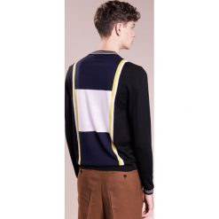 PS by Paul Smith MENS ZIP NECK  Sweter black. Czarne swetry klasyczne męskie PS by Paul Smith, m, z materiału. W wyprzedaży za 379,60 zł.