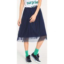 Odzież damska: Spódnica w kolorze granatowym