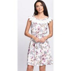 Sukienki: Biała Sukienka Let Me Be