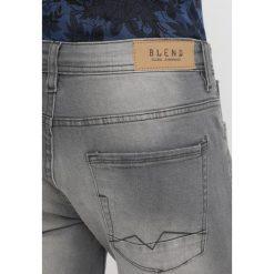 Blend SLIM FIT Jeansy Slim Fit denim grey. Brązowe jeansy męskie marki Blend, l, z bawełny, bez kaptura. Za 169,00 zł.