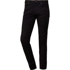 Emporio Armani Jeansy Slim Fit denim nero. Szare jeansy męskie relaxed fit marki Emporio Armani, l, z bawełny, z kapturem. Za 589,00 zł.