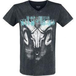 T-shirty męskie: Black Premium by EMP Heavy Soul T-Shirt ciemnoszary