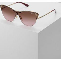 Okulary przeciwsłoneczne damskie: VOGUE Eyewear Okulary przeciwsłoneczne violet grad brown mirror green