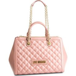 Torebka LOVE MOSCHINO - JC4000PP17LA0600 Rosa. Czerwone torebki klasyczne damskie marki Love Moschino, ze skóry ekologicznej, duże. Za 959,00 zł.