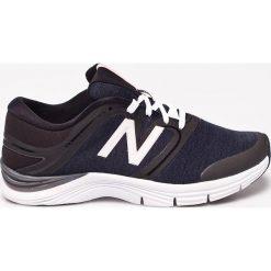 New Balance - Buty. Czerwone buty do fitnessu damskie marki New Balance, z gumy. W wyprzedaży za 179,90 zł.