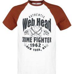 T-shirty męskie z nadrukiem: Spider-Man Authentic Web Head T-Shirt biały/czerwony