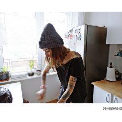 Czapki damskie: Czapka Rybaka – Ciemnoszary