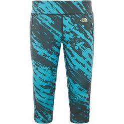Legginsy damskie do fitnessu: The North Face Legginsy W Pulse Capri Tight Bluebird Paintball Print M