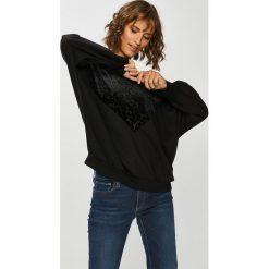 Only - Bluza. Czarne bluzy z nadrukiem damskie ONLY, l, z bawełny, bez kaptura. Za 169,90 zł.