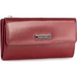 Duży Portfel Damski MONNARI - PUR1050-005 Red. Szare portfele damskie marki Monnari, z materiału, średnie. W wyprzedaży za 129,00 zł.