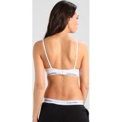 Biustonosze bardotka: Calvin Klein Underwear TRIANGLE UNLINED Biustonosz z trójkątną miseczką white