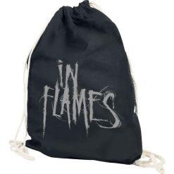 Torebki klasyczne damskie: In Flames Logo Torba treningowa czarny