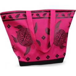 Torba plażowa Tropical Turtle Pink. Różowe torby plażowe marki Astratex. Za 45,99 zł.