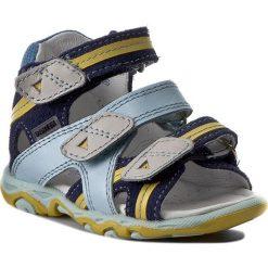 Sandały męskie skórzane: Sandały BARTEK – 11708-170 Niebieski