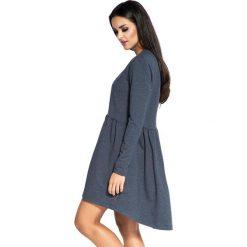 """Długie sukienki: Sukienka """"Deyn"""" w kolorze granatowym"""