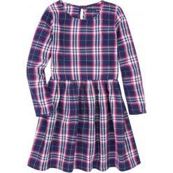 Sukienki dziewczęce: Romantyczna sukienka w kratkę dla dziewczynki 9-13 lat