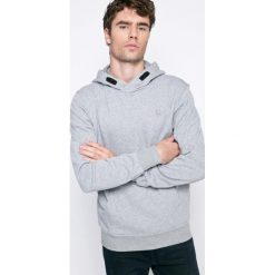 G-Star Raw - Bluza. Szare bluzy męskie rozpinane marki G-Star RAW, l, z bawełny, z kapturem. W wyprzedaży za 249,90 zł.