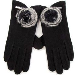 Rękawiczki Damskie WITTCHEN - 47-6-101-1 Czarny. Czarne rękawiczki damskie Wittchen, z materiału. Za 99,00 zł.