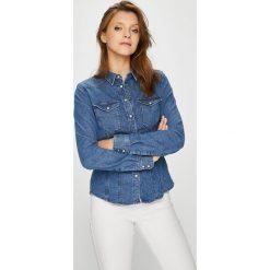G-Star Raw - Koszula Tacoma. Szare koszule damskie marki G-Star RAW, l, z bawełny, klasyczne, z klasycznym kołnierzykiem, z długim rękawem. W wyprzedaży za 399,90 zł.