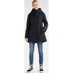 CMP FIX HOOD Parka black/blue melange. Czerwone kurtki sportowe damskie marki CMP, z materiału. W wyprzedaży za 679,20 zł.