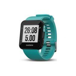 Zegarek GPS Forerunner 30 z pulsometrem. Niebieskie zegarki męskie Garmin. Za 599,99 zł.