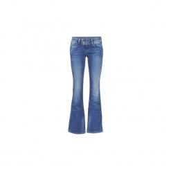 Jeansy bootcut Pepe jeans  PIMLICO. Niebieskie jeansy damskie bootcut marki bonprix. Za 293,30 zł.