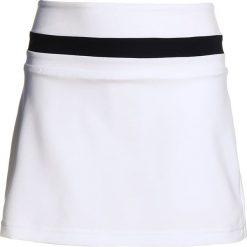 Adidas Performance CLUB SKIRT Spódnica sportowa white. Białe spódniczki dziewczęce adidas Performance, z materiału. Za 139,00 zł.