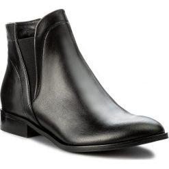 Sztyblety SERGIO BARDI - Bonea FW127281617GM 101. Czarne buty zimowe damskie Sergio Bardi, ze skóry, na obcasie. W wyprzedaży za 219,00 zł.