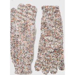 Pepe Jeans - Rękawiczki. Czerwone rękawiczki damskie Pepe Jeans, z dzianiny. Za 119,90 zł.