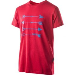 T-shirty chłopięce: Hi-tec Koszulka Skote junior boy czerwona r. 158