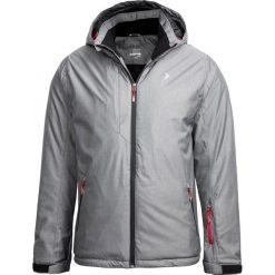 Kurtka narciarska męska KUMN601 - średni szary melanż - Outhorn. Szare kurtki męskie pikowane Outhorn, m, melanż, narciarskie. Za 269,99 zł.