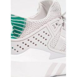 Adidas Originals EQT BASK ADV Tenisówki i Trampki grey one/sub green. Białe tenisówki damskie adidas Originals, z materiału. W wyprzedaży za 359,20 zł.
