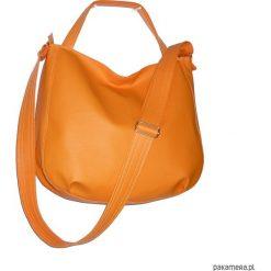 Pomarańczowa torebka listonoszka 3w1. Szare torebki worki marki Reserved. Za 135,00 zł.