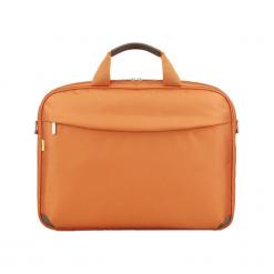 """Sumdex PON-452OG 15""""-16"""" pomarańczowa. Brązowe torby na laptopa Sumdex, w paski. Za 89,00 zł."""