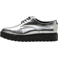 Jazzówki damskie: Calvin Klein VICTORINA Oksfordki dark silver
