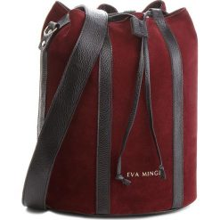 Torebka EVA MINGE - Miami 4G 18NN1372655EF  834. Czerwone torebki worki Eva Minge, ze skóry. W wyprzedaży za 349,00 zł.