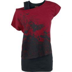 Black Premium by EMP Got My Mind Set On You Koszulka damska czarny/czerwony. Czarne bluzki z odkrytymi ramionami marki Black Premium by EMP, xl, z poliesteru. Za 99,90 zł.