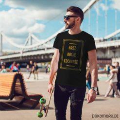 T-shirty męskie: Masz rację koszulka męska czarna tshirt męski